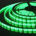 Светодиодная лента SMD 3528 120д/м. Зеленая  влагозащищённая