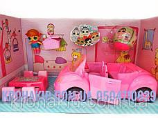 Игровой набор LOL автомобиль-кабриолет с куколками LOL / Лол пикник / аналог, фото 2