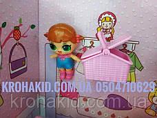 Игровой набор LOL автомобиль-кабриолет с куколками LOL / Лол пикник / аналог, фото 3