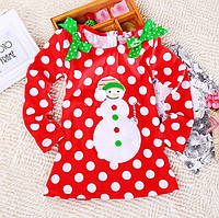 Плаття новорічне Сніговик