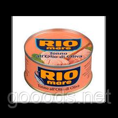 Тунец в оливковом масле Rio Mare 80 g Италия