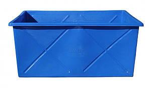 Контейнер пищевой 1000 литров ящик промышленный двухслойный емкость, фото 2