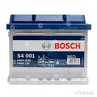 Аккумулятор BOSCH 44Ah-12v (S4001) со стандартными клеммами| R, EN440