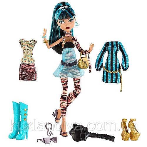 Кукла Monster High Клео Де Нил Я люблю моду - I Heart Fashion Cleo De Nile