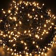 Новогодняя гирлянда 300 LED, IP44, Длина 24 М, Желтый свет, фото 2