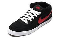 Мужские кроссовки  Nike 6.0 Mavrk Mid 2 M09 Мужские кроссовки найк 6.0 мид черные оригинал