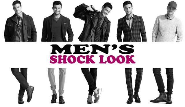 Oдежда и обувь из Англии, магазин модной мужской одежды и обуви SHOCK LOOK предлагает оригинальные вещи от всемирно известных мировых брендов!