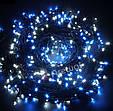 Новогодняя гирлянда 1000 LED, Длина 67m, Белый теплый свет ,Кабель 2,2 мм, фото 4