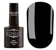 Гель-лак Komilfo №001 (черный, эмаль), 8 мл