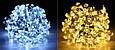 """Новогодняя гирлянда """"Цветы"""" IP44, 30 Светодиодов, фото 8"""