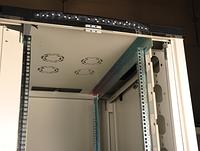 Hypernet CKSR-FNC88-42U Шкаф коммутационный серверный напольный 42U 19'' 800х800 разборной, перф. перед и задняя дверь Hypernet CKSR-FNC88-42U