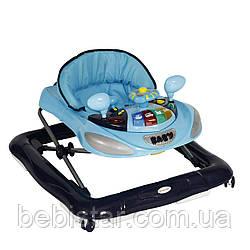 Ходунки серые Lorelli W1224CE DARK BLUE