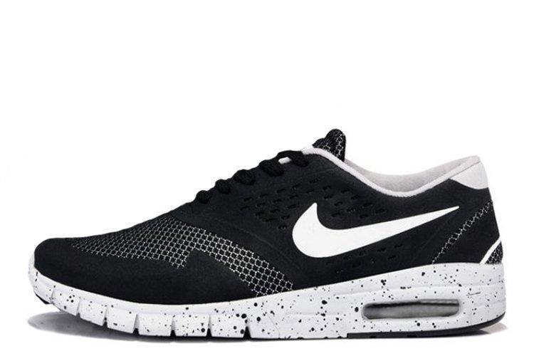 Мужские кроссовки Nike SB Eric Koston 2 Max Black White 9e900864294f9
