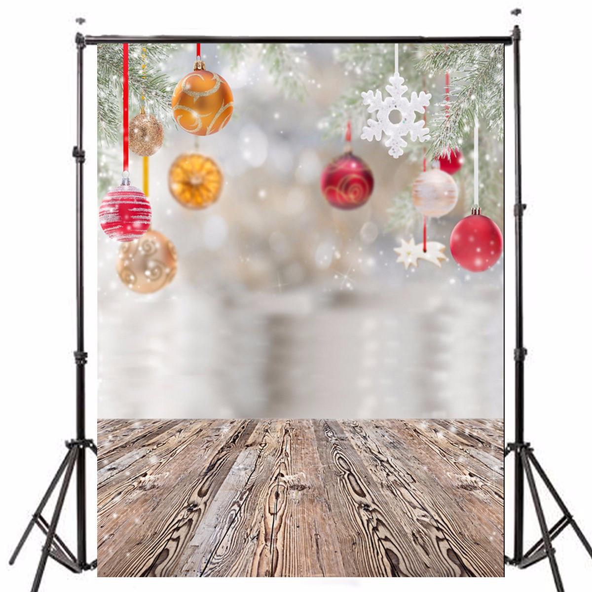 3x5FT Рождественская елка Декор Снежная фотография Фон Фон Студия Prop - 1TopShop
