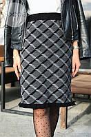 Женская теплая юбка из шерсти 4308 (р.44-50), фото 1
