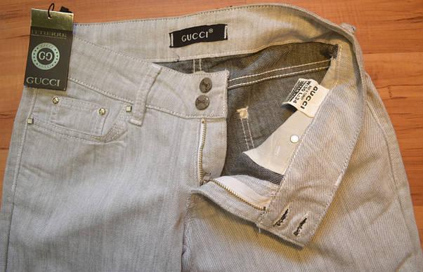 Женские джинсы GUCCI (копия), фото 3