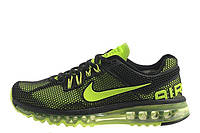 Мужские кроссовки Nike Air Max 2013 GL Ultra Green | найк аир макс ультра зеленые оригинал