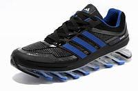 Мужские кроссовки Adidas Springblade 05M (черно-синий)