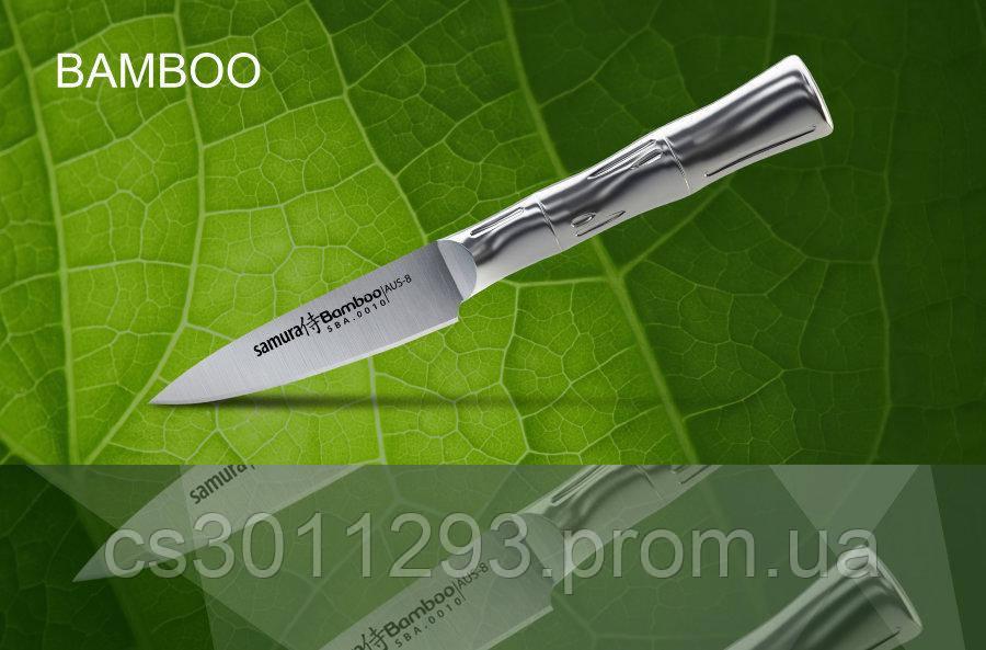Нож кухонный Samura Bamboo овощной,88 мм, SBA-0010