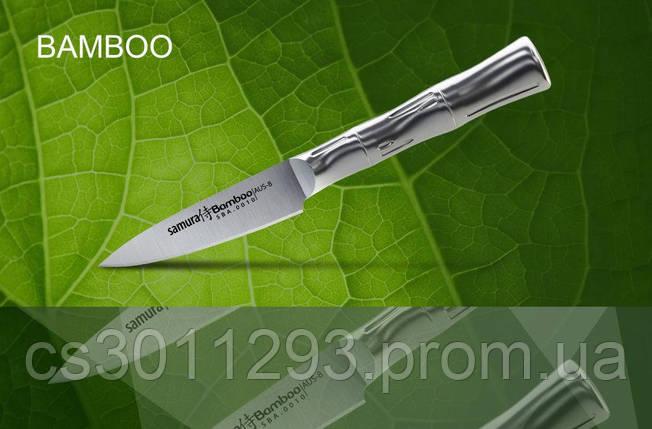Нож кухонный Samura Bamboo овощной,88 мм, SBA-0010, фото 2