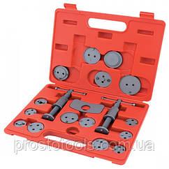 Комплект для обслуживания тормозных цилиндров  18 ед (два винта) Toptul  JGAI1801