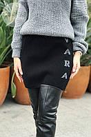 Женская теплая юбка из шерсти 0130 (р.44-48), фото 1