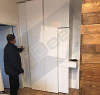 г. Киев, ул. Чавдар. Шкаф 4-D белый крашенный матовый.