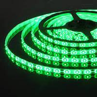 Светодиодная лента SMD 5050 60д/м. Зелёная влагозащищённая