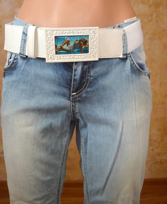 Женские джинсы GUCCI (копия), фото 2