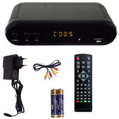 Цифровой ТВ тюнер DVB-T2 Grunhelm GT2HD-030