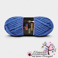 Толстая пряжа Комбо Combo Himalaya, 52702, голубой