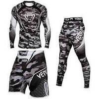 Комплект одежды Venum Camo Hero (Компрессионная одежда Венум Камо Хироу)