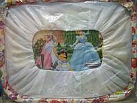 Манеж детский рисунок (Принцесса) мелкая сетка