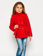 Детское пальто из кашемира для девочки