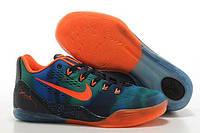 Мужские баскетбольные кроссовки Nike Zoom Kobe 9 Orange Blue| найк зум кубе 9 сине оранжевые