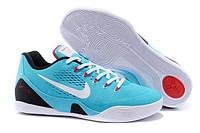 Мужские баскетбольные кроссовки Nike Zoom Kobe 9 Light Blue|  найк зум кобе 9 голубые, фото 1