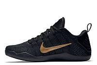 Мужские баскетбольные кроссовки Nike Kobe 11 Elite Low FTB|  найк кобе 11 елит лов черные
