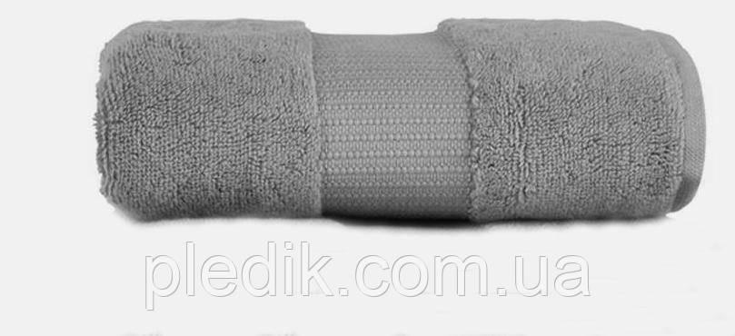 Полотенца хлопок/бамбук VALENCIA от Casual Avenue 50х90 серый DARK GREY