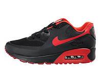 Мужские кроссовки Nike Air Max 90 Hyperfuse 04М| найк аир макс 90 черные