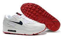 Мужские кроссовки Nike Air Max 90 18М   найк аир макс 90 белые оригинал