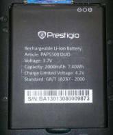 Аккумулятор на телефон Prestigio 5500 Original