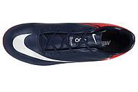 Футбольные мужские бутсы Mercurial Vapor X AG MG - Midnight Blue Indian Red  White 43 7a9f09b8dd4
