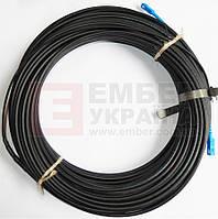 Патчкорд из кабеля FTTH, 3мм (на стальке), фото 1