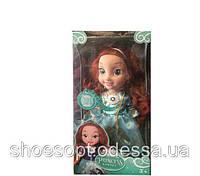 Лялька Хоробра серцем Дісней Принцеса музична 36см, очі -скло