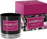 Свеча ароматизированная Bispol Восточные цветы 8,5 см (sn81-095-272)