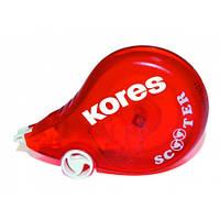 Корректор-ленточный Kores Scooter, 4,2мм * 8 м, красный