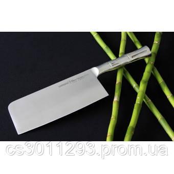 Нож-топорик кухонный Samura Bamboo для мяса, 180 мм, SBA-0040