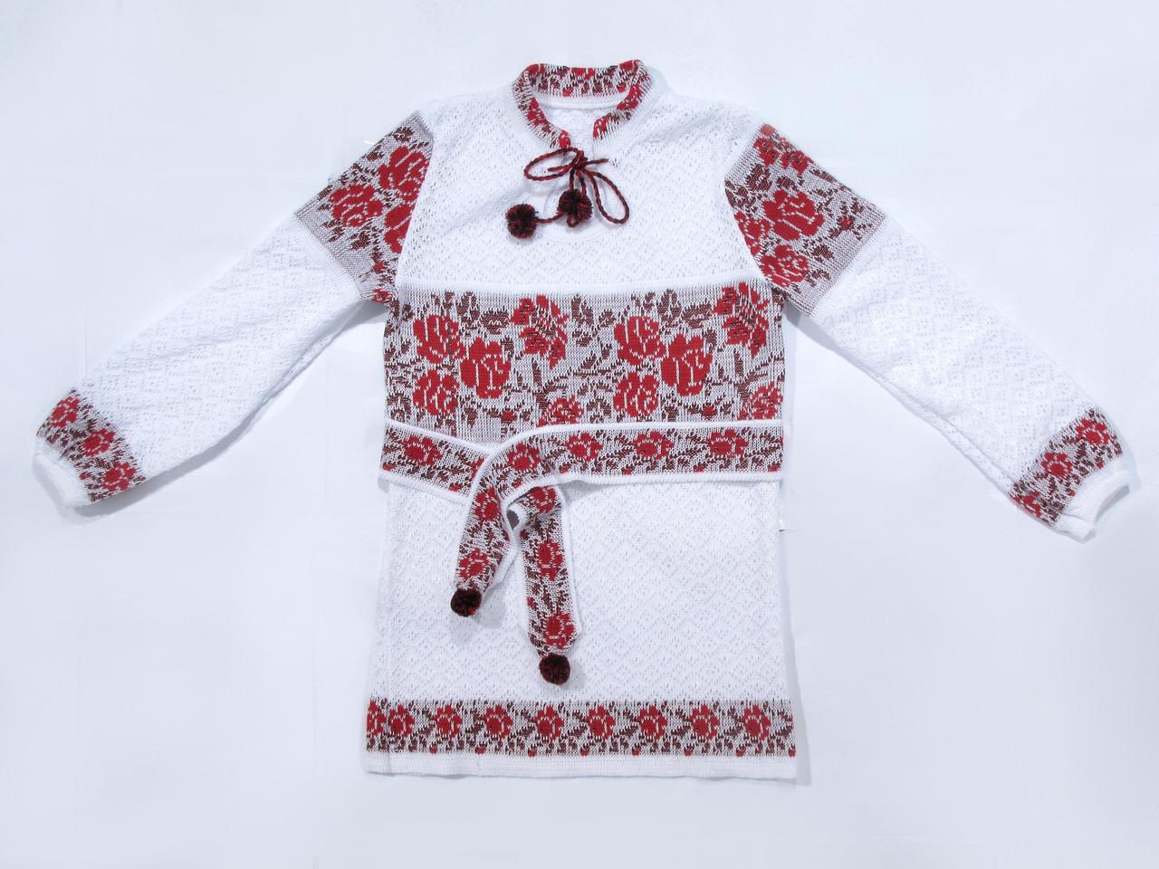Туніка дитяча Червоні троянди х/б