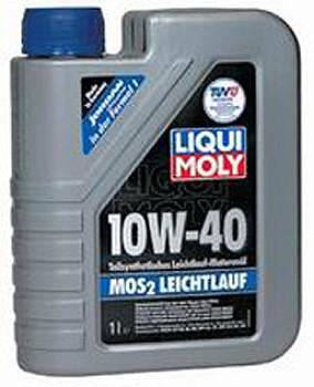 LIQUI MOLY MoS2 Leichtlauf SAE 10W-40 (Молибден) 1л.