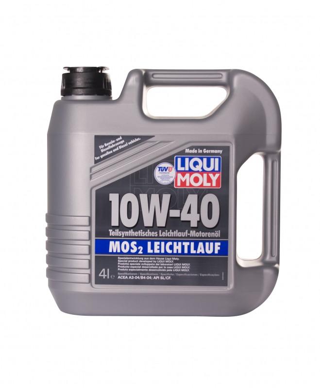 LIQUI MOLY MoS2 Leichtlauf SAE 10W-40 (Молибден) 4л.